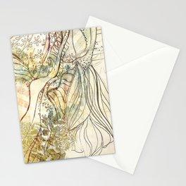 sonho dourado Stationery Cards