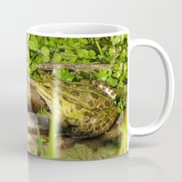 frog Mugs featuring frog by giol's