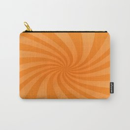 Orange swirl design Carry-All Pouch