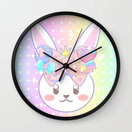 Fairy Kei Decora Bunny Wall Clock