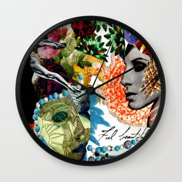 Feel Beautiful Wall Clock