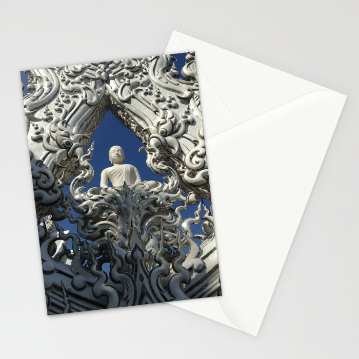Wat Rong Kun1 Stationery Cards