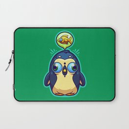 Hungry Penguin Laptop Sleeve