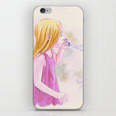 Soap Bubbles iPhone & iPod Skin