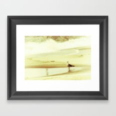 and the seagull's name was Nelson Framed Art Print