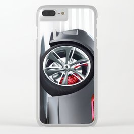 jaguar2 Clear iPhone Case