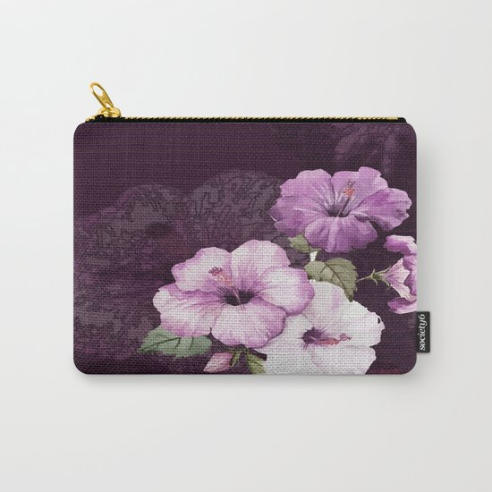 The shadow of flowers Carry-All Pouch