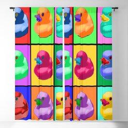 Pop Art Ducky Blackout Curtain