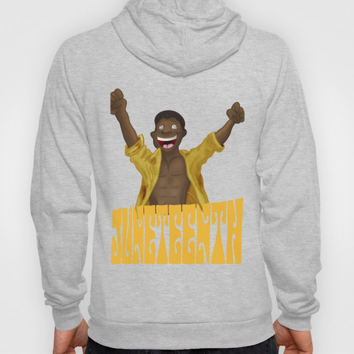 Juneteenth product For Boys and Men Hoody