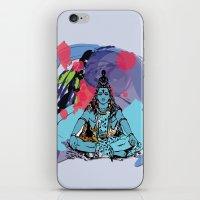 shiva iPhone & iPod Skins featuring Shiva by SACreativeTO