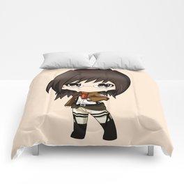 hange zoe chibi attack on titan Comforters