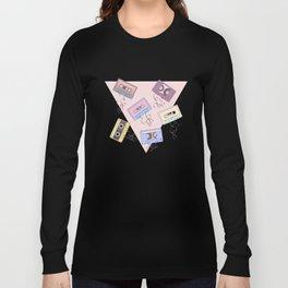Cassette Pattern Long Sleeve T-shirt