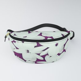 Scattered Jasmine Purple Fanny Pack