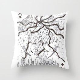 Legend of Nebula No. 5 Throw Pillow