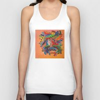 camo Tank Tops featuring Camo by Adrienne S. Price