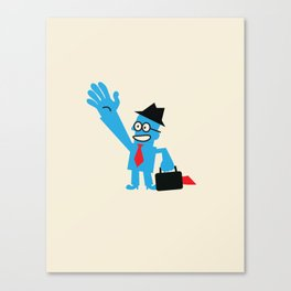 FROM ANOTHER PLANET Canvas Print