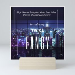 introducing: fancy Mini Art Print