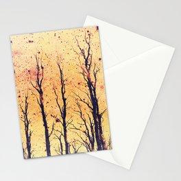 Stark Trees Stationery Cards