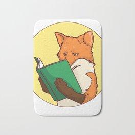Reading book gift bookworm library books Bath Mat
