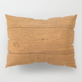 The Cabin Vintage Wood Grain Design Pillow Sham