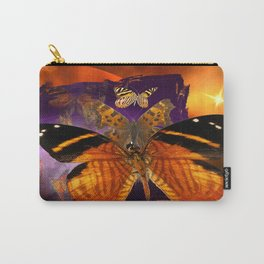 Honey Butterfly Carry-All Pouch