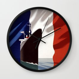 French Voyage Wall Clock