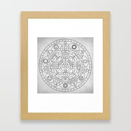 Hermetic Principles Framed Art Print