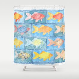 goldfish 2 Shower Curtain