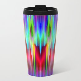 Colorful digital art splashing G487 Travel Mug