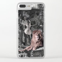 Listening the music. African Invasion. Clear iPhone Case