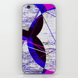 abstract flower  iPhone Skin