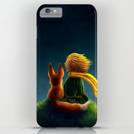 little prince and the fox iPhone Case