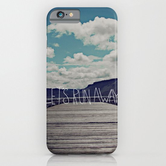 Let's Run Away: Detroit Lake, Oregon iPhone & iPod Case
