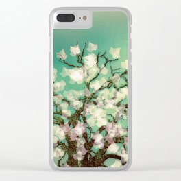 Magical Winter Clear iPhone Case