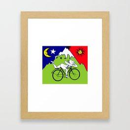 Lsd Bicycle Framed Art Print
