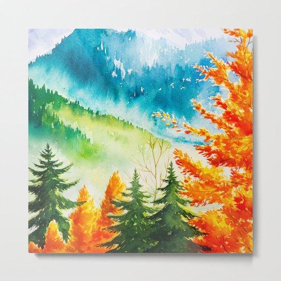 Autumn scenery #6 Metal Print