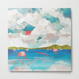 Flamingo Dream Metal Print