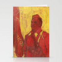 soviet Stationery Cards featuring Soviet by Gokhan Gokseven