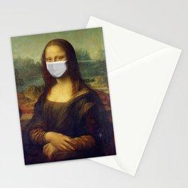 Masked Mona Lisa Stationery Cards