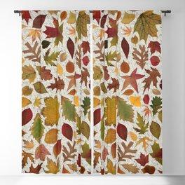 Autumn Leaves Speckle Blackout Curtain