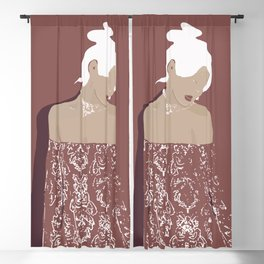 Lady amaranto Blackout Curtain