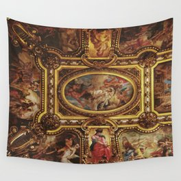 Ceiling of the Palais Garnier Wall Tapestry