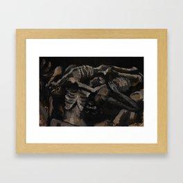 Naptime (Auschwitz) Framed Art Print