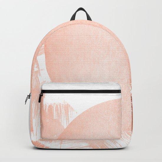 Sun Paint Swipes in Sweet Peach Shimmer Backpack
