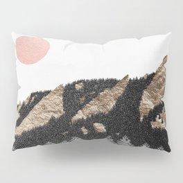 Flatirons Boulder Colorado - Climbing Gold Mountains Pillow Sham