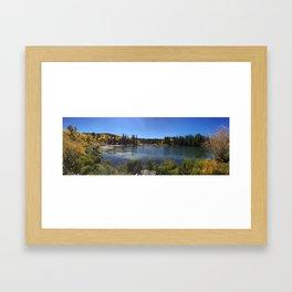 Cozy Lake Framed Art Print
