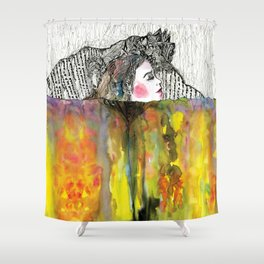 Inspiration Breath Shower Curtain