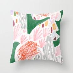 Seeing Spaces - White Throw Pillow