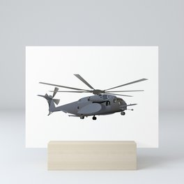 Military MH-53 Helicopter Mini Art Print