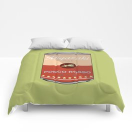 Porco Rosso - Miyazaki - Special Soup Series  Comforters